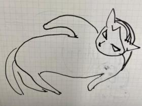 灵魂系画作,让猫咪看了会沉默,铲屎官看了会流泪
