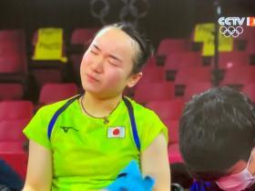 """被孙颖莎4:0横扫之后,伊藤美诚哭了说""""很不甘心"""""""