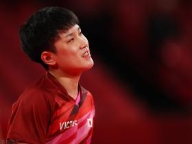 张本智和咆哮两胜成空砍,德国男乒3比2击败日本,将与中国队争冠
