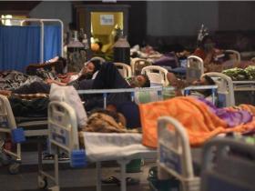 """惨烈!印度医院现状曝光:ICU""""尸横遍野"""",医护人员全都消失"""