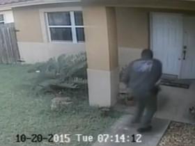 美国警察枪杀狗的视频被曝光