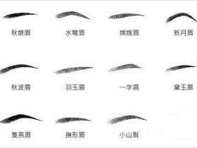 在相学中,女性眉毛好坏的基本标准和是否旺夫