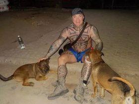 澳洲黑帮大佬金盆洗手,不爱兰博基尼,爱养流浪猫狗