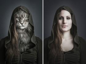 """我可以将猫咪""""变""""成它们的主人"""