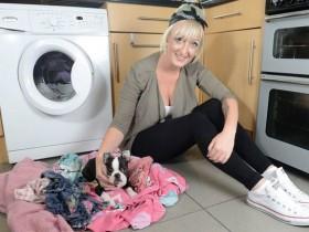狗狗被困在烘干机里30分钟 竟然奇迹般地活了下来