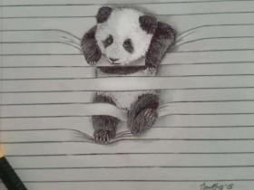 艺术家的创意无极限 几条横线让动物们立体感大增