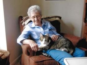 主人和猫在同一天内相继过世 前后只差约一个小时