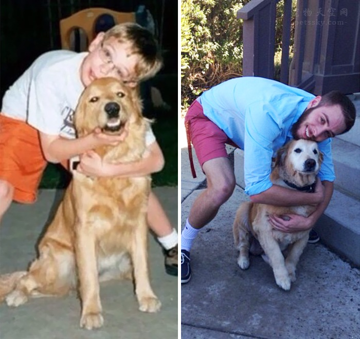 狗狗小时候和现在差距特别大,是一种怎样的体验?