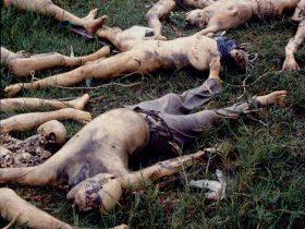 1994年卢旺达大屠杀惨状:女性惨遭性侵(组图)