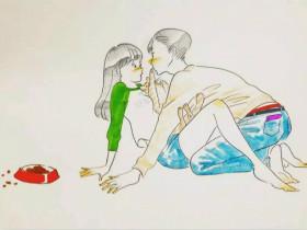 这一组大尺度的情趣插画,看完好想谈恋爱!