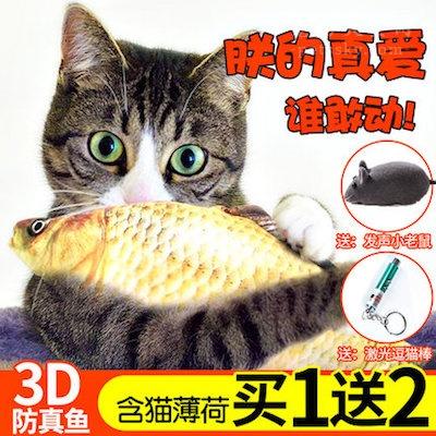"""自从猫咪有了这个""""鱼""""玩具后,总是玩得不亦乐乎"""