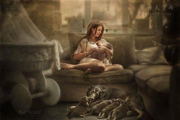 年轻的时候没有与孩子合影,妈妈非常自责后,为他人拍了这些照片