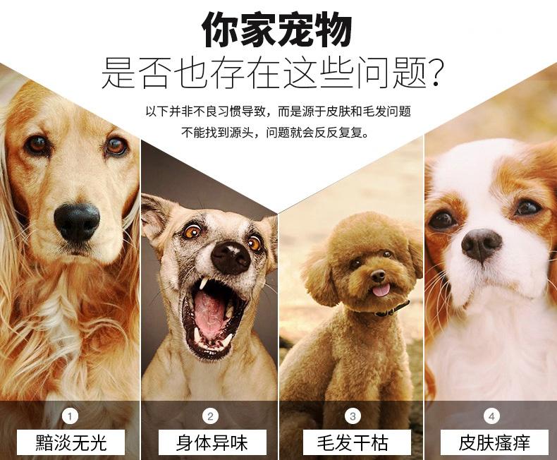 狗狗沐浴露:杀菌、祛味、除虱、灭蚤、杀螨